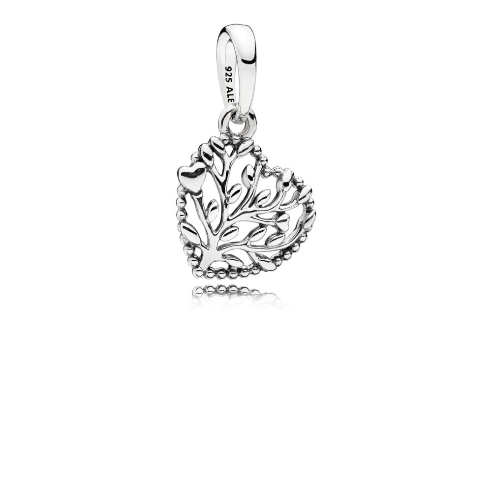 Flourishing Hearts Dangle Charm - Pandora Jewelry Las Vegas