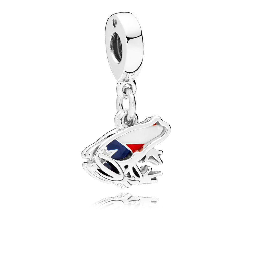 Love Puerto Rico Dangle Charm - Pandora Jewelry Las Vegas
