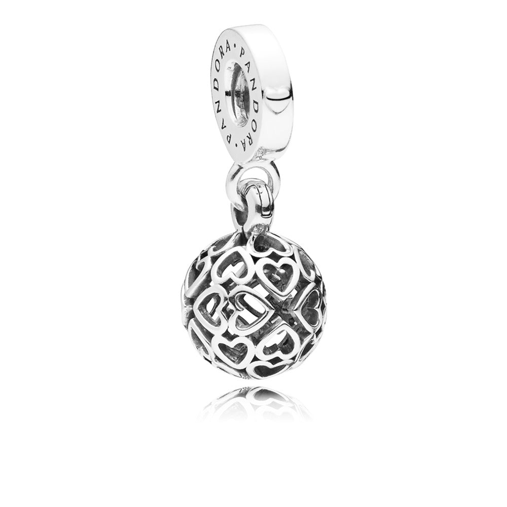 Harmonious Hearts Dangle Charm - Pandora Jewelry Las Vegas