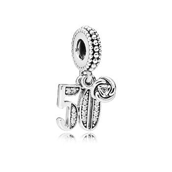 50 Years Of Love Dangle Charm - Pandora Jewelry Las Vegas