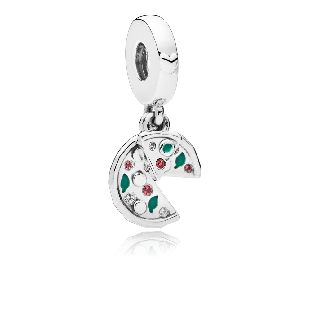 Passion For Pizza Dangle Charm - Charm - Pandora Las Vegas Jewelry
