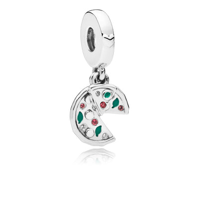 Passion For Pizza Dangle Charm - Pandora Jewelry Las Vegas