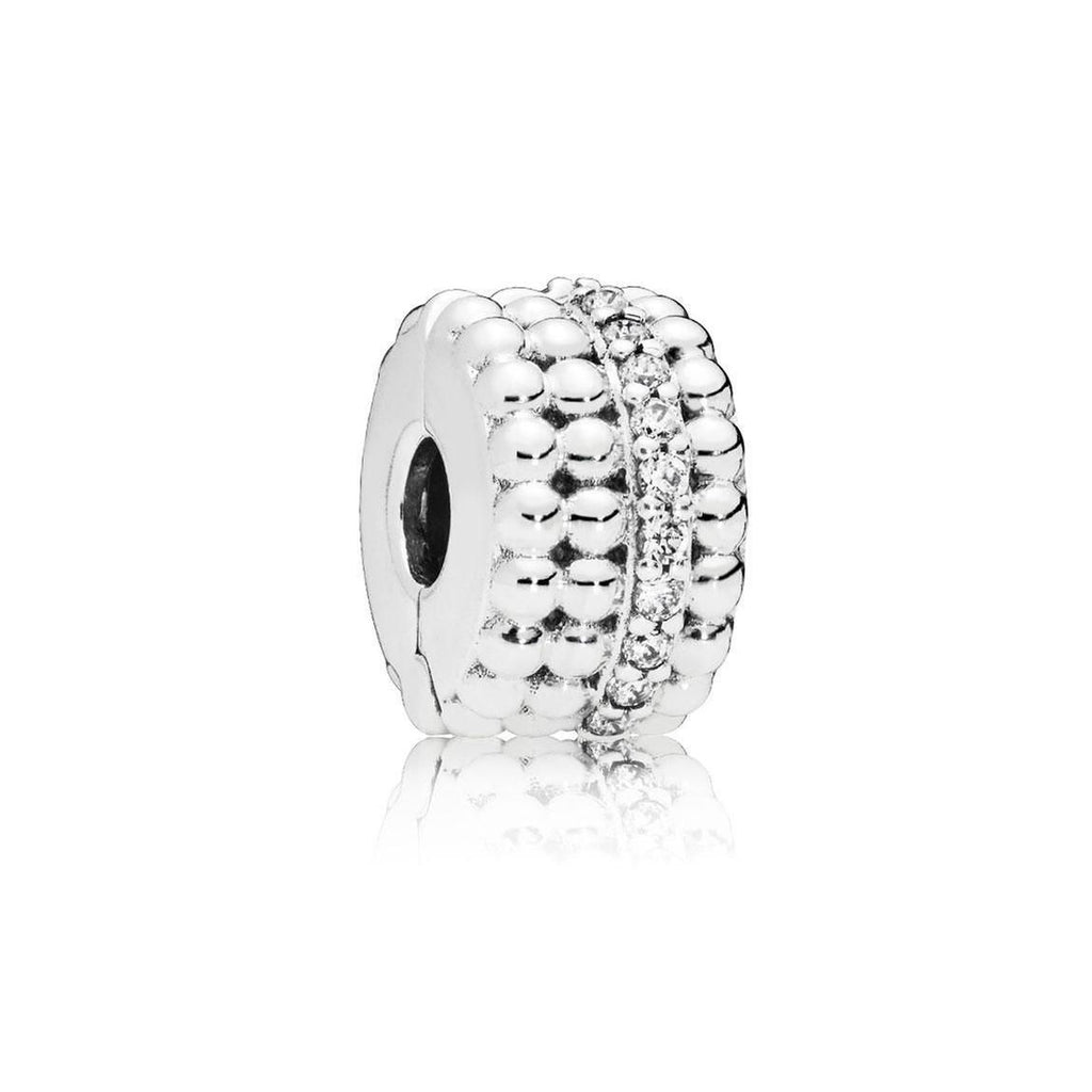 Beaded Brilliance Clip Charm - Pandora Jewelry Las Vegas