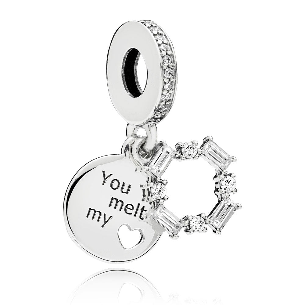 Ice Carving Dangle Charm - Pandora Jewelry Las Vegas