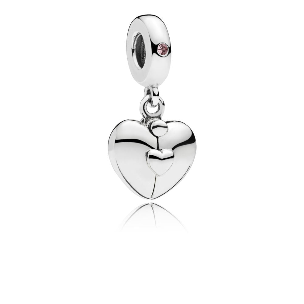 Family Heart Locket Dangle Charm - Pandora Jewelry Las Vegas