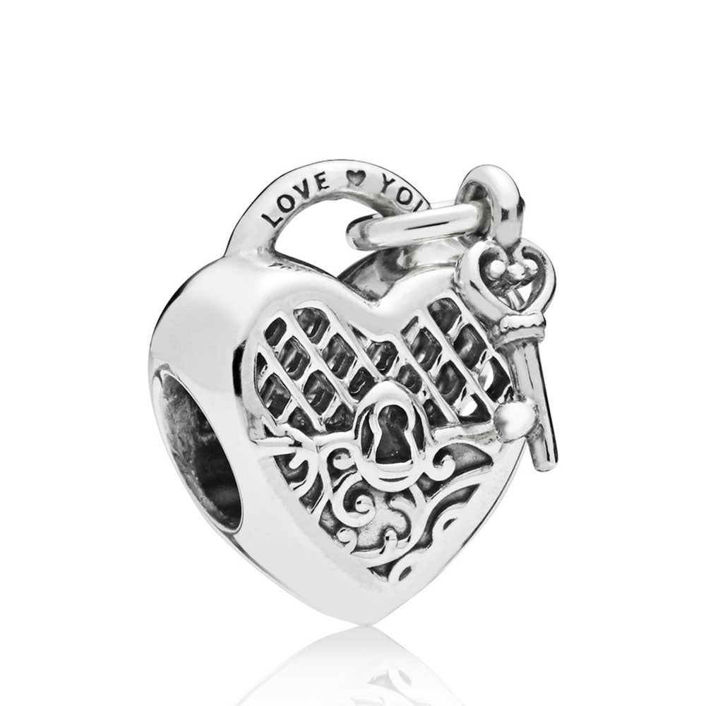 Love You Lock Charm - Pandora Jewelry Las Vegas