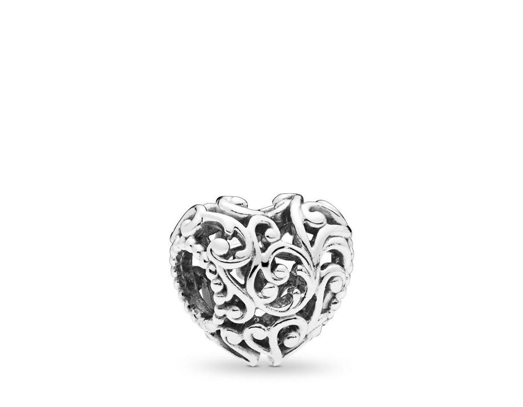 Regal Heart Charm - Pandora Jewelry Las Vegas