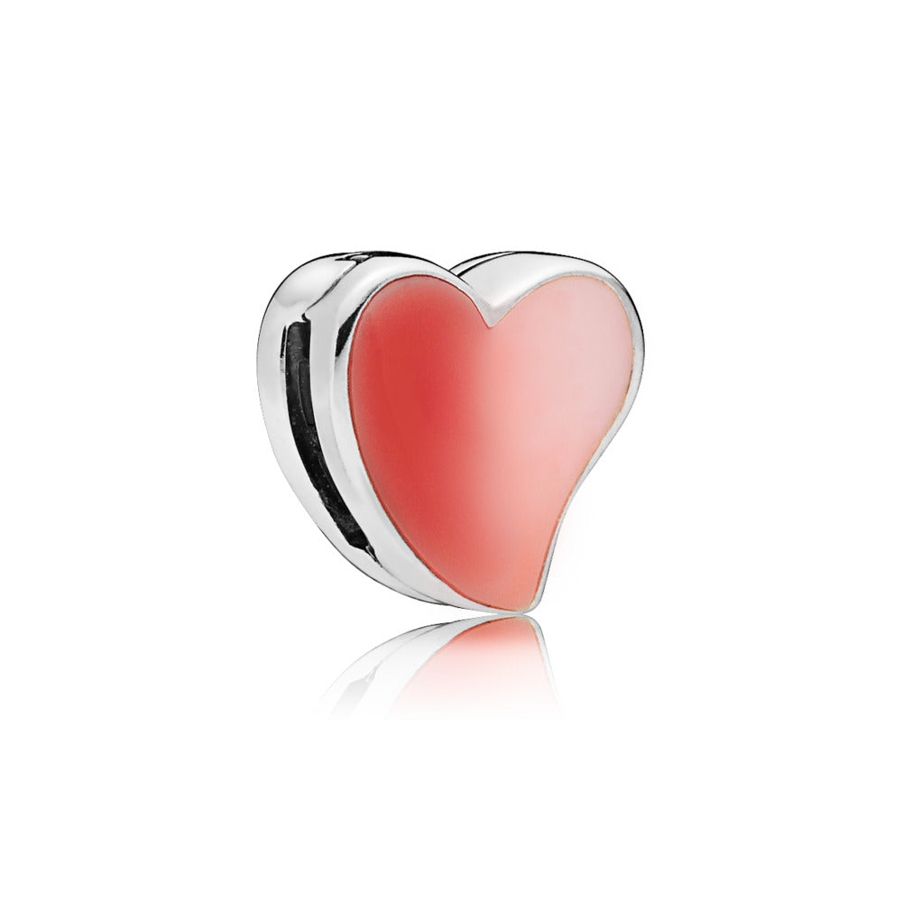 Asymmetric Heart of Love Reflexions Clip - Pandora Jewelry Las Vegas