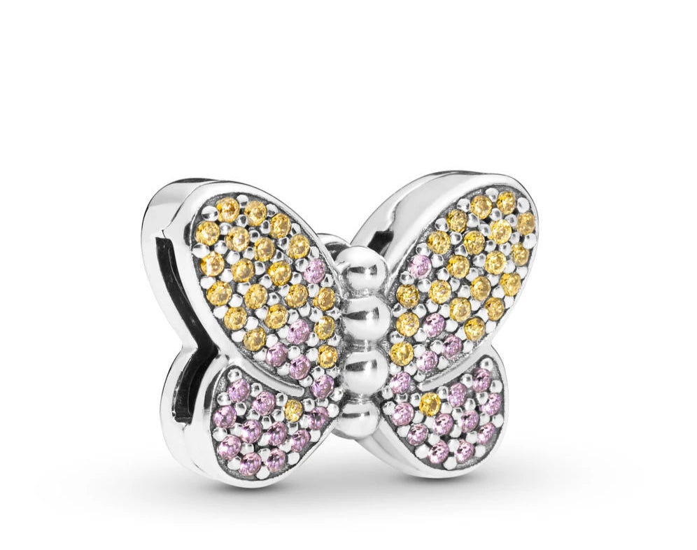 Bedazzling Butterfly Reflexions Clip - Pandora Jewelry Las Vegas