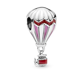 Red Hot Air Balloon Charm - Pandora Jewelry Las Vegas