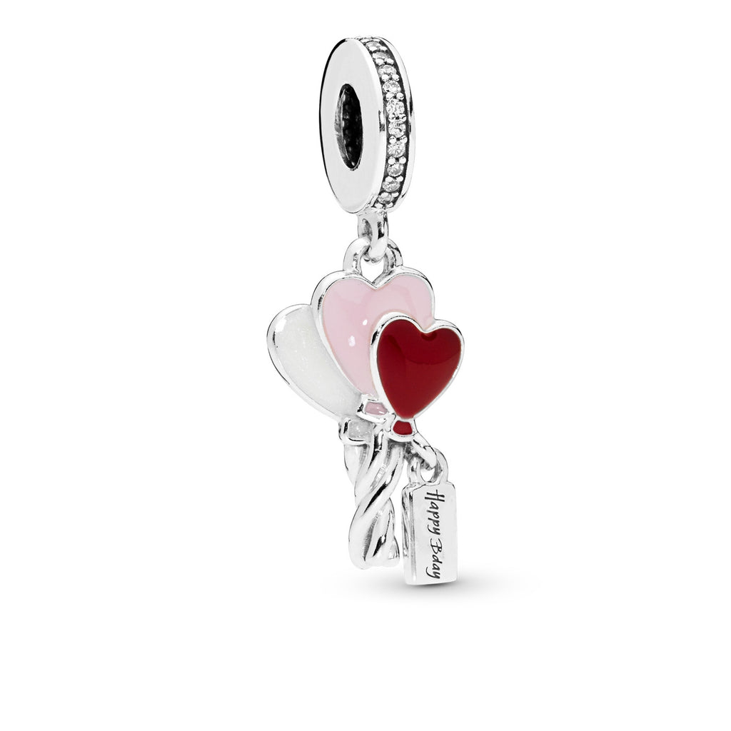 Heart Balloons Dangle Charm - Pandora Jewelry Las Vegas