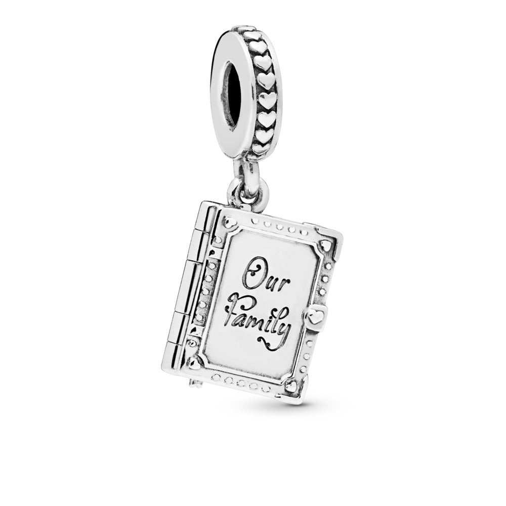 Family Book Dangle Charm - Pandora Jewelry Las Vegas