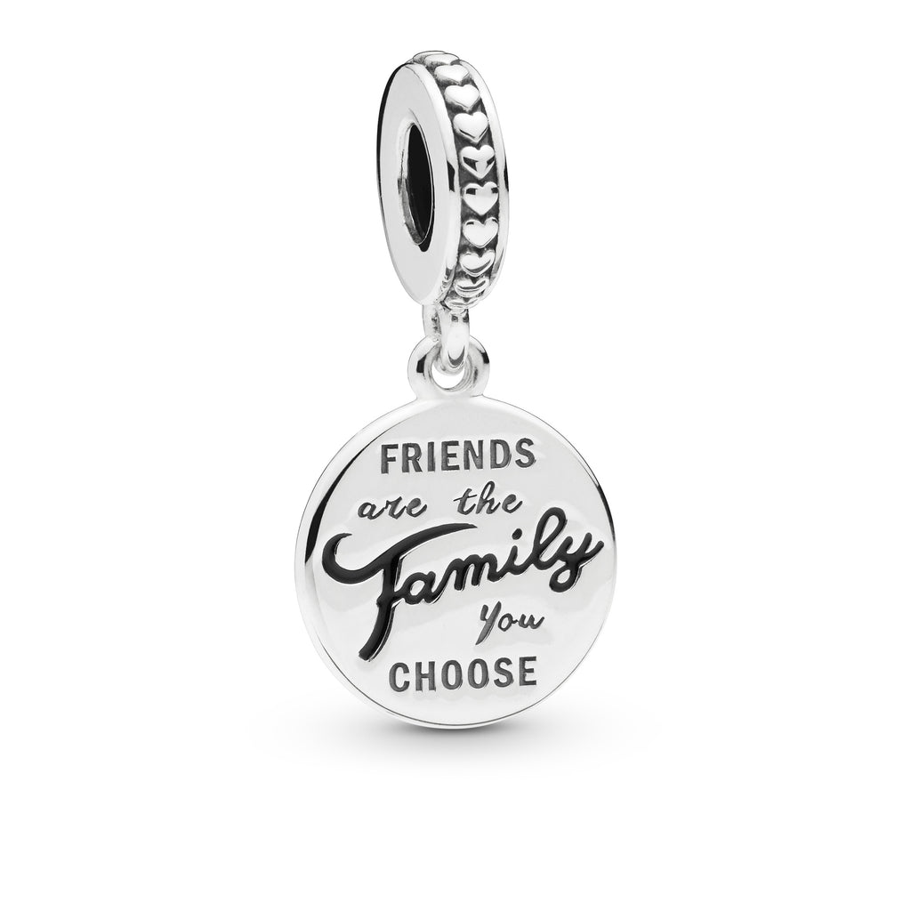 Friends Are Family Dangle Charm - Pandora Jewelry Las Vegas