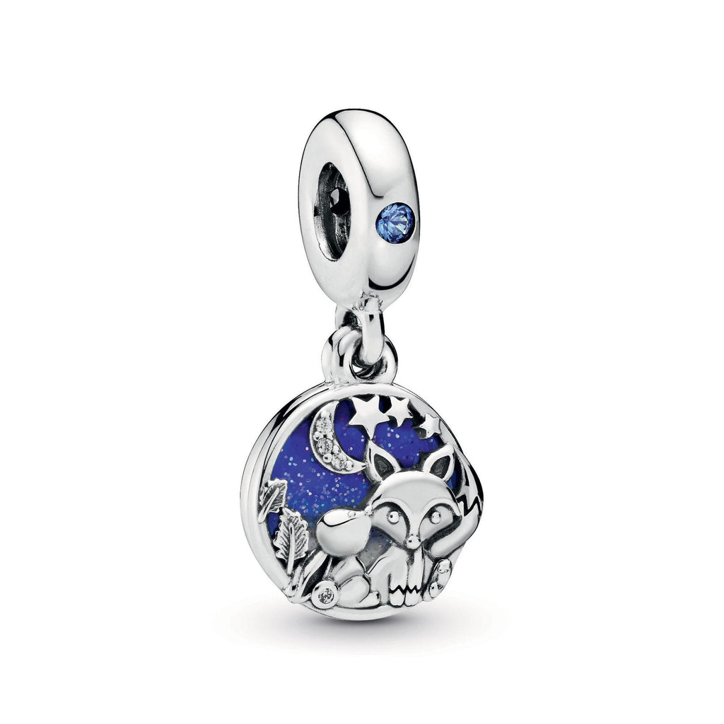 Fox & Rabbit Dangle Charm - Pandora Jewelry Las Vegas