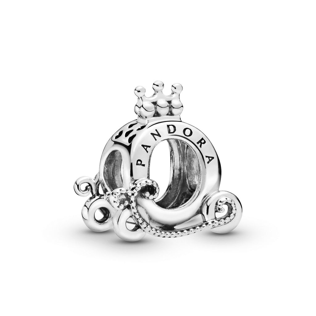 Polished Crown O Carriage Charm - Pandora Jewelry Las Vegas