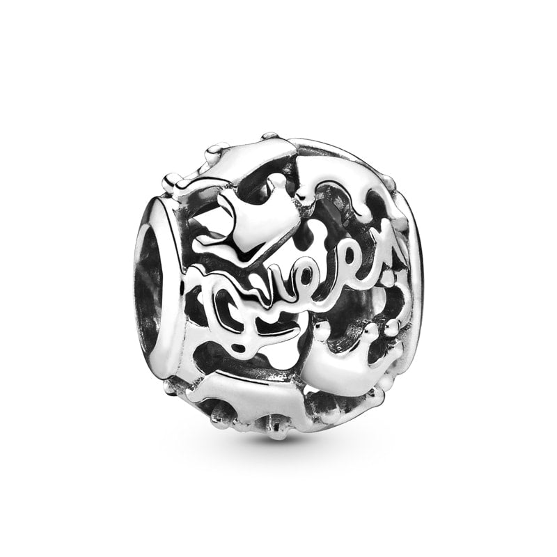 Queen & Regal Crowns Charm - Pandora Jewelry Las Vegas