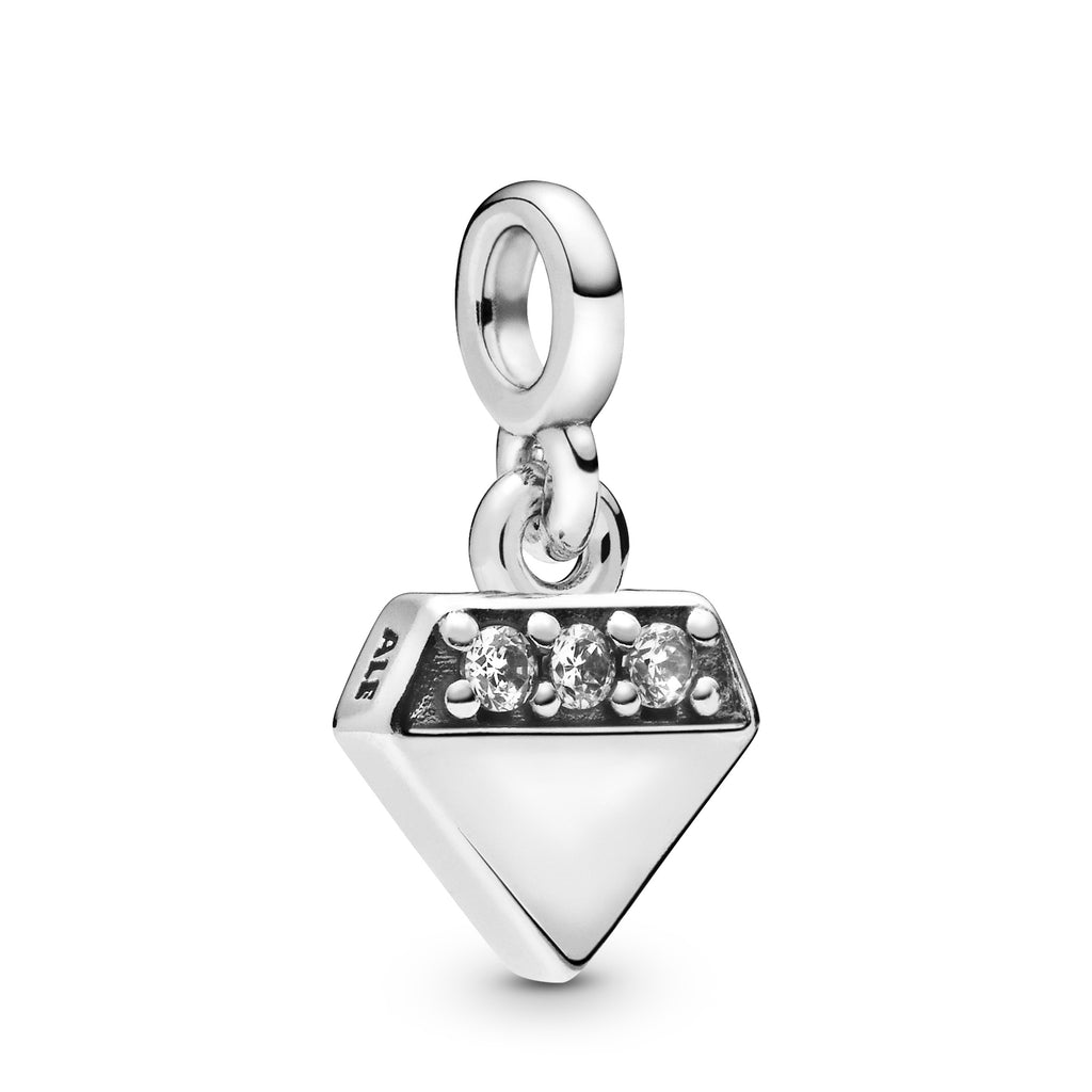 My Bright Diamond Dangle Charm - Pandora Jewelry Las Vegas