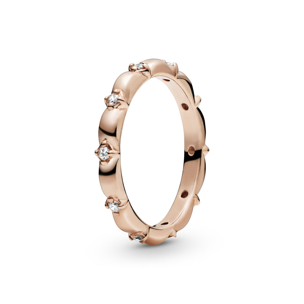 Flower Petals Band Ring - Pandora Jewelry Las Vegas