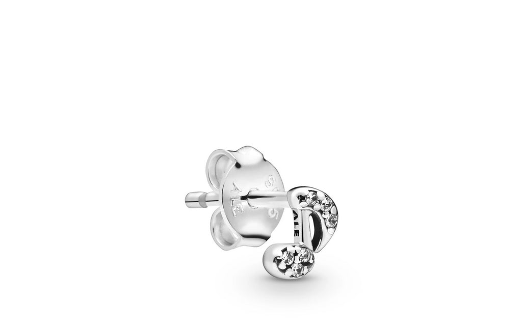 My Musical Note Single Stud Earring - Pandora Jewelry Las Vegas