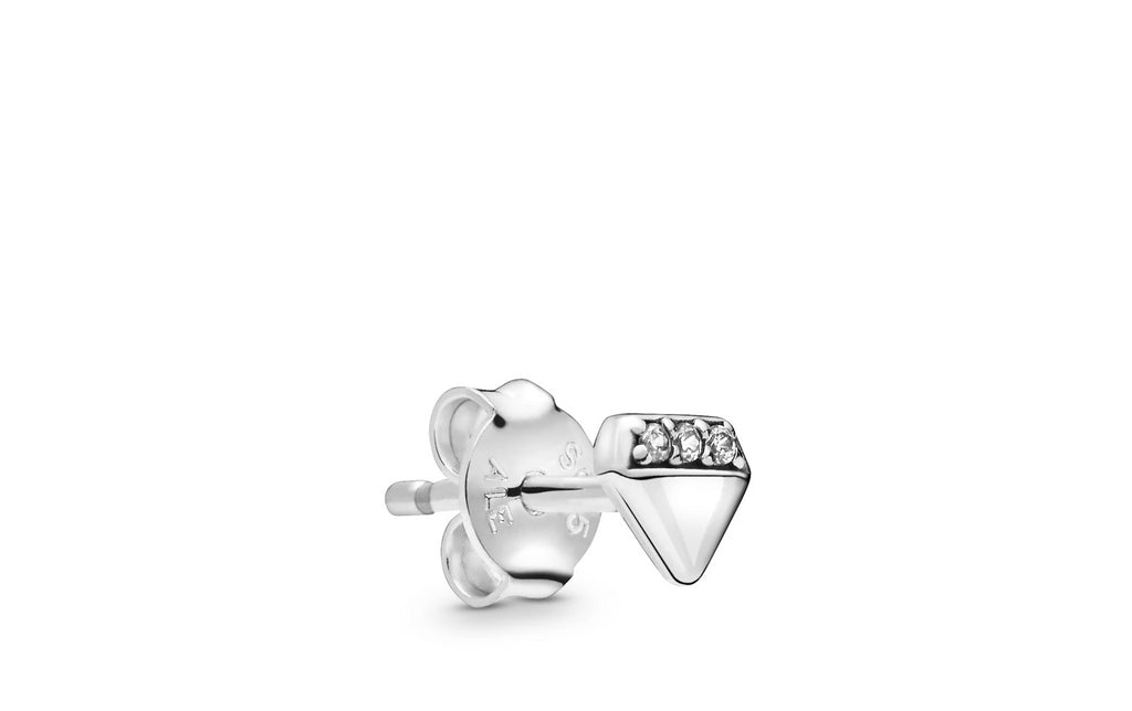 My Bright Diamond Single Stud Earring - Pandora Jewelry Las Vegas