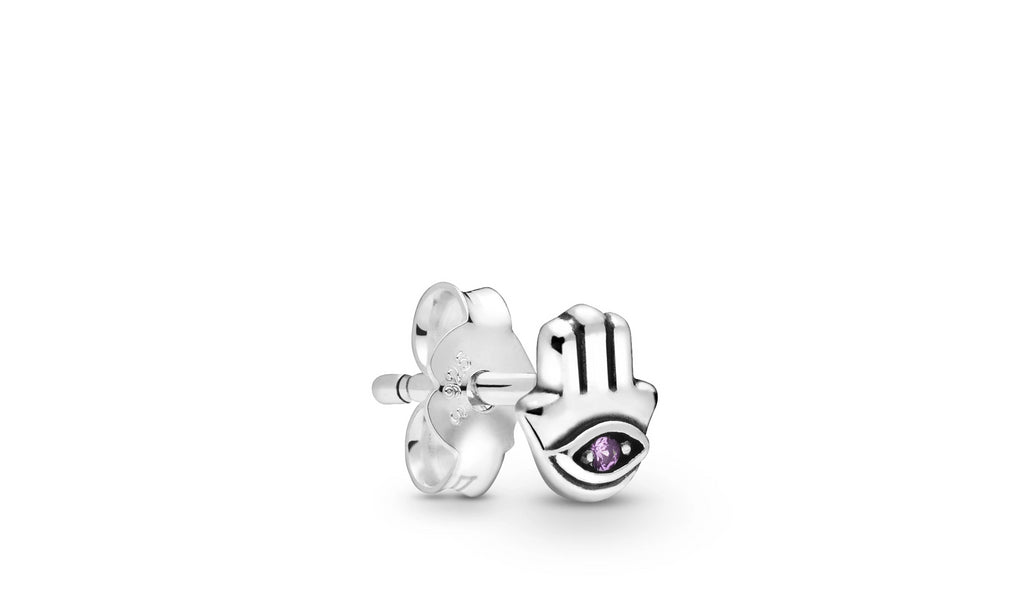 My Hamsa Hand Single Stud Earring - Pandora Jewelry Las Vegas