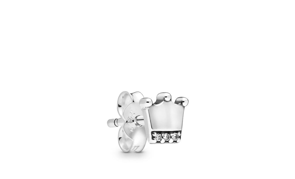My Crown Single Stud Earring - Pandora Jewelry Las Vegas