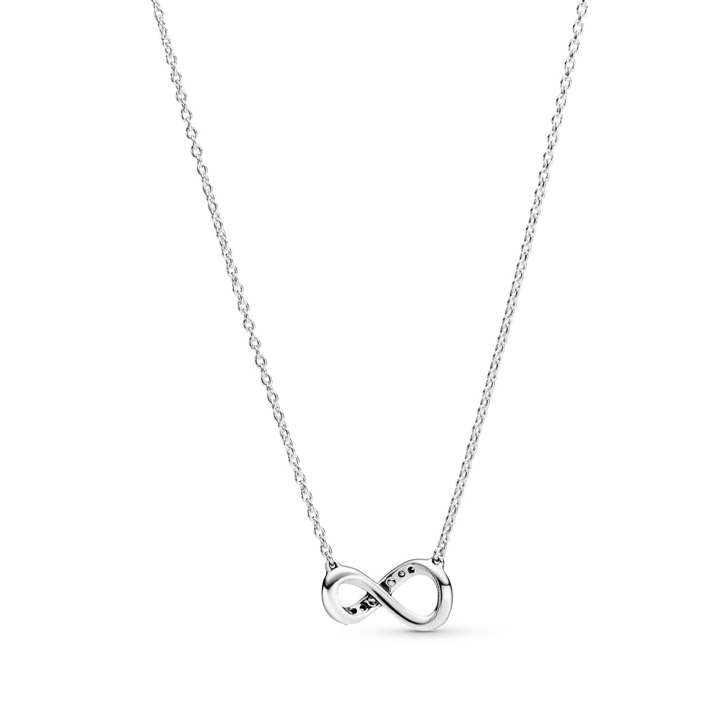 Sparkling Infinity Collier Necklace - Pandora Jewelry Las Vegas