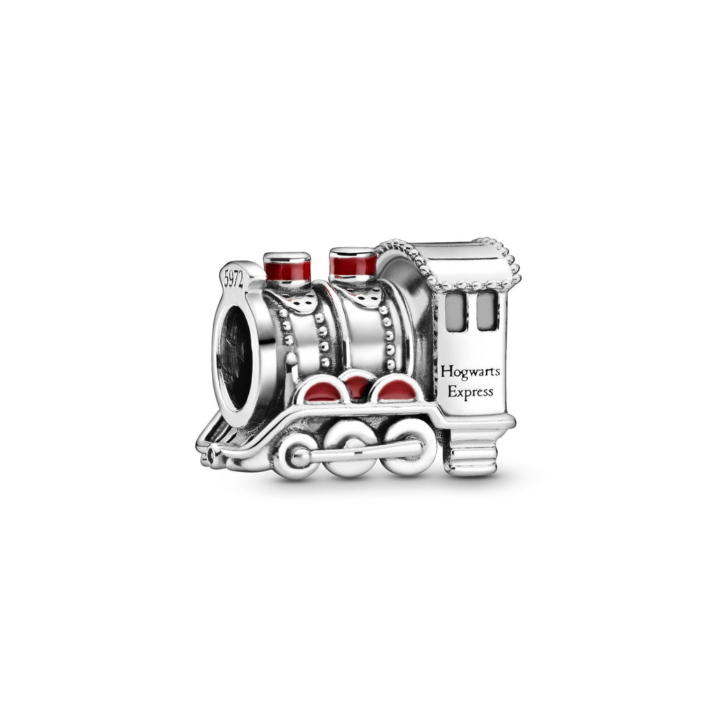 Hogwarts Express Sterling Silver With Red Enamel Charm - Pandora Jewelry Las Vegas