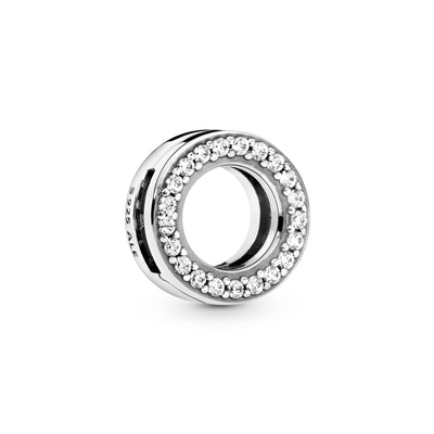 Circle of Pavé, Clear CZ Charm - Pandora Jewelry Las Vegas