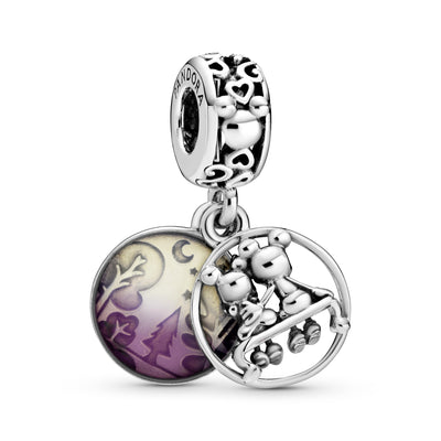 Disney Mickey Mouse & Minnie Mouse Happily Ever After Dangle Charm - Pandora Jewelry Las Vegas