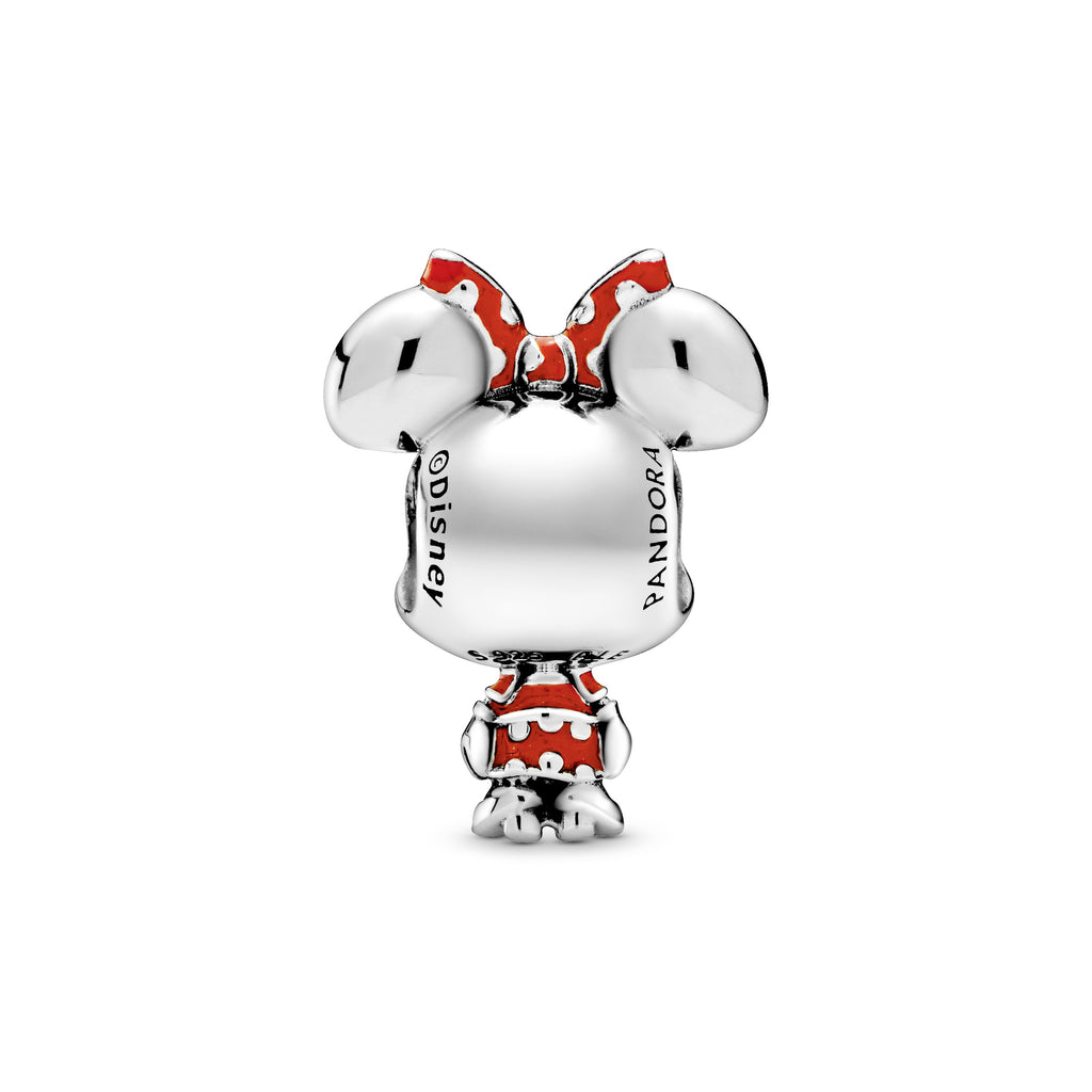 Disney Minnie Mouse Dotted Dress & Bow Charm - Pandora Jewelry Las Vegas