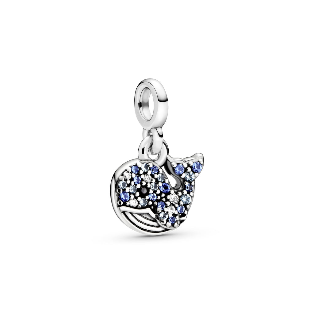 My Blue Whale Dangle Charm Pandora Me Collection