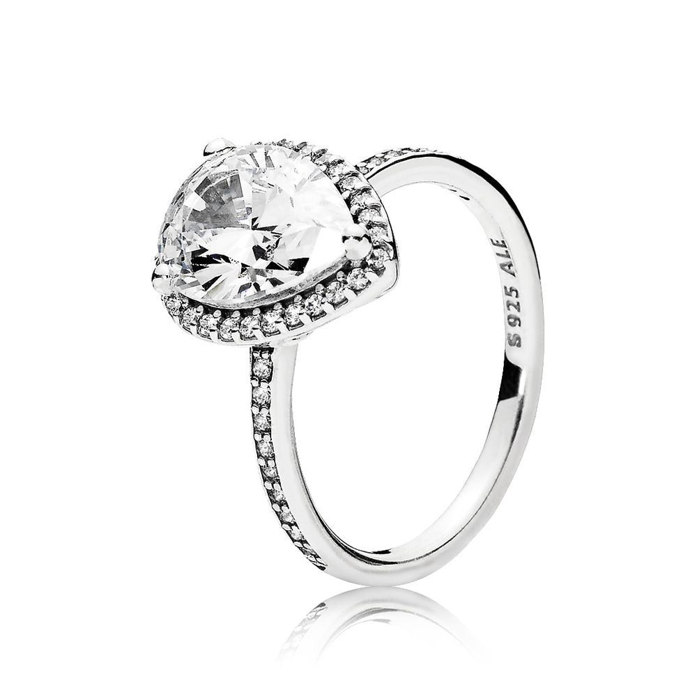 Radiant Teardrop Ring - Pandora Jewelry Las Vegas
