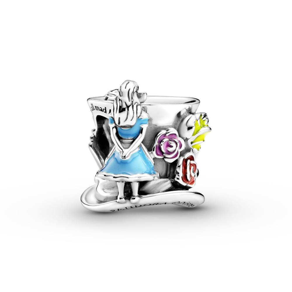Alice in Wonderland & The Mad Hatter's Tea Party Charm