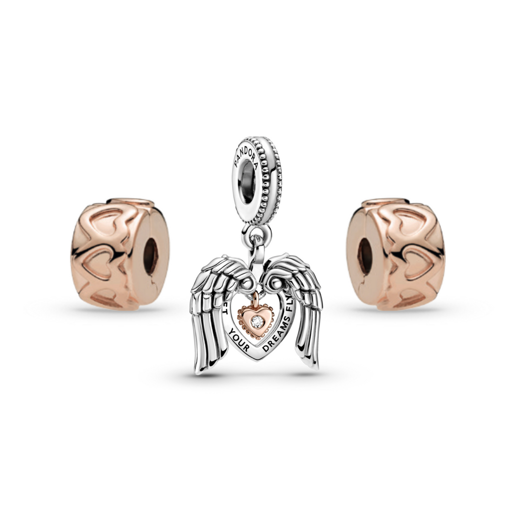Let Your Dreams Fly Charm Set
