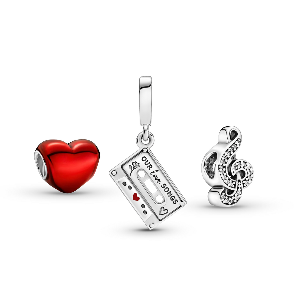 Our Love Songs Charm Set