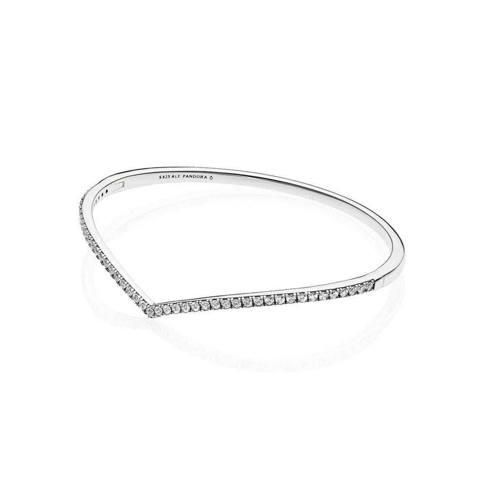 Shimmering Wish Bangle - Pandora Jewelry Las Vegas