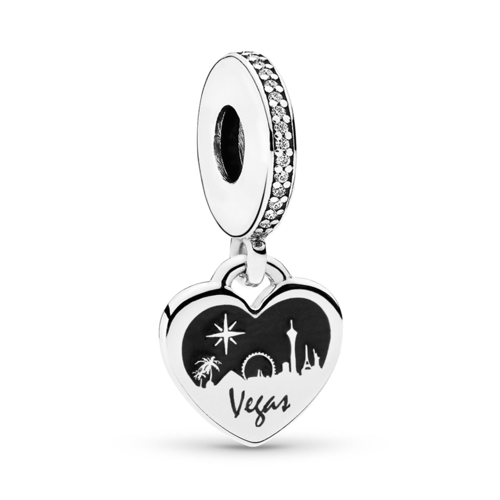 No Place Like Vegas Dangle Charm