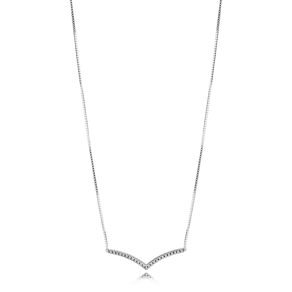 Shimmering Wish Necklace - Pandora Jewelry Las Vegas