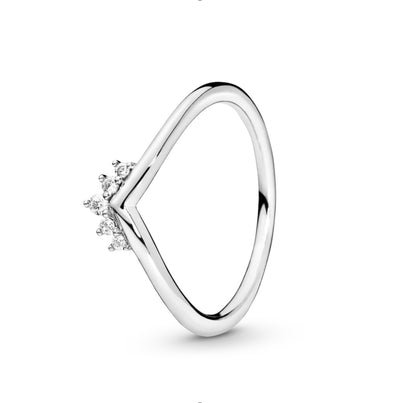 Tiara Wishbone Ring - Pandora Jewelry Las Vegas