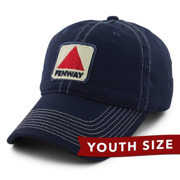 "Fenway Patch ""Shortstop"" Youth Adjustable Hat - Navy"