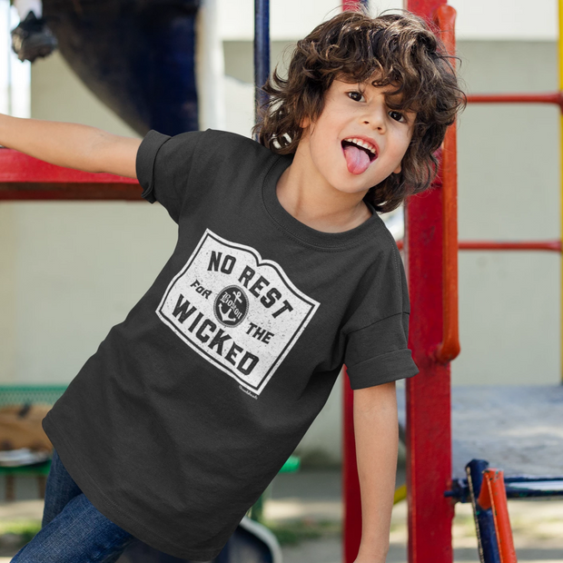 No Rest For The Wicked Youth T-Shirt