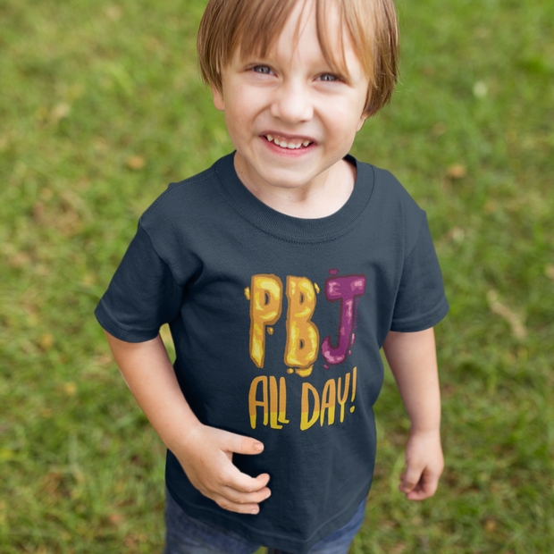 PBJ All Day Toddler T-Shirt