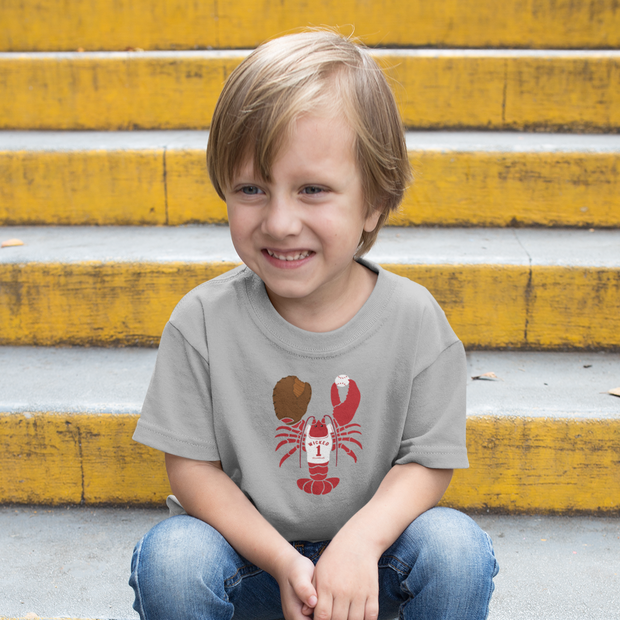 Baseball Lobster Toddler T-Shirt