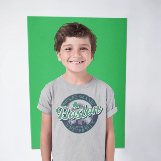 Boston Wicked Smaaht Gameday Youth T-Shirt