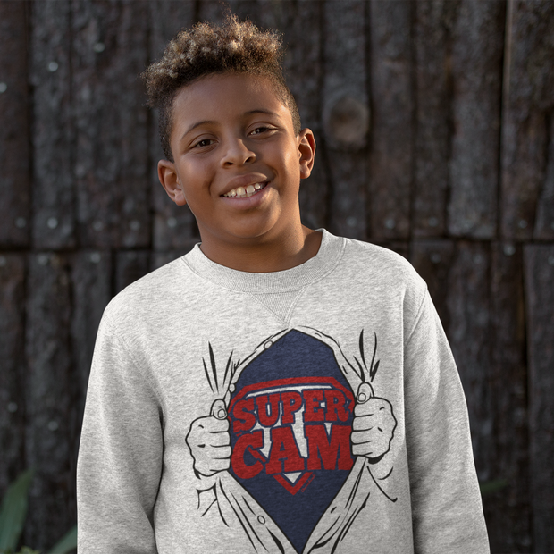 Super Cam Fan of Steel Youth Sweatshirt