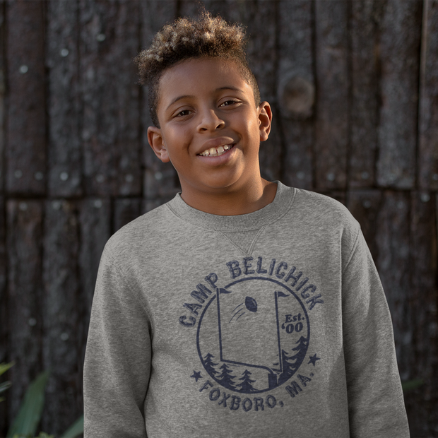 Camp Belichick Foxboro Youth Sweatshirt