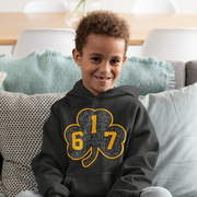 617 Black & Gold Street Youth Sweatshirt