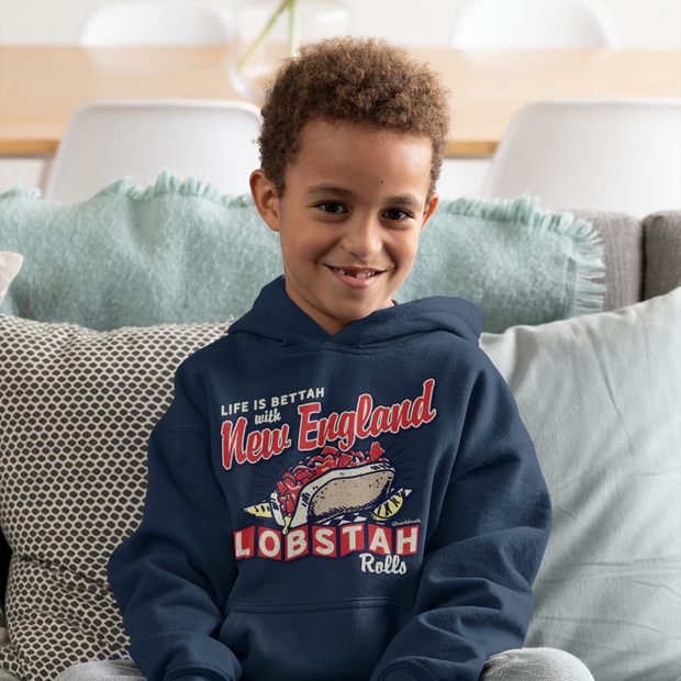 New England Lobstah Rolls Youth Sweatshirt