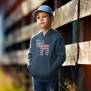 'Merica Moose Youth Sweatshirt
